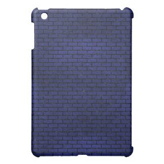 BRICK1 BLACK MARBLE & BLUE LEATHER (R) COVER FOR THE iPad MINI