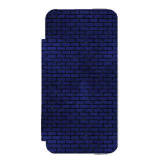 BRICK1 BLACK MARBLE & BLUE LEATHER (R) INCIPIO WATSON™ iPhone 5 WALLET CASE
