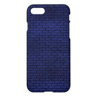 BRICK1 BLACK MARBLE & BLUE LEATHER (R) iPhone 8/7 CASE