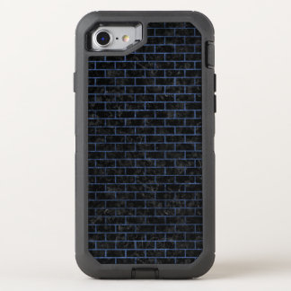 BRICK1 BLACK MARBLE & BLUE STONE OtterBox DEFENDER iPhone 8/7 CASE