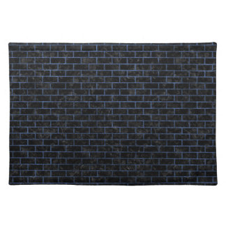 BRICK1 BLACK MARBLE & BLUE STONE PLACEMAT