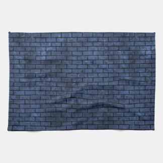 BRICK1 BLACK MARBLE & BLUE STONE (R) HAND TOWEL