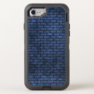 BRICK1 BLACK MARBLE & BLUE STONE (R) OtterBox DEFENDER iPhone 8/7 CASE