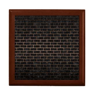 BRICK1 BLACK MARBLE & BRONZE METAL GIFT BOX