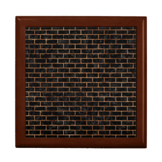 BRICK1 BLACK MARBLE & BROWN STONE GIFT BOX