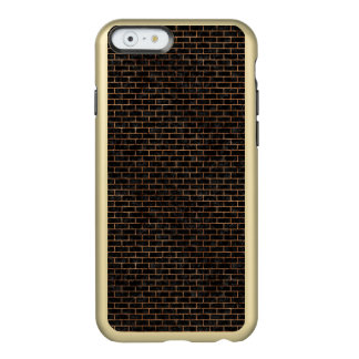 BRICK1 BLACK MARBLE & BROWN STONE INCIPIO FEATHER® SHINE iPhone 6 CASE