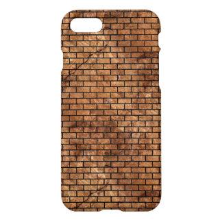 BRICK1 BLACK MARBLE & BROWN STONE (R) iPhone 8/7 CASE