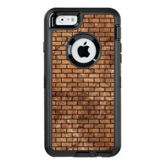 BRICK1 BLACK MARBLE & BROWN STONE (R) OtterBox DEFENDER iPhone CASE