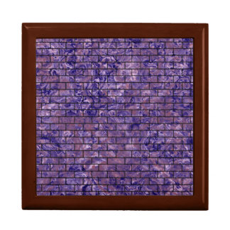 BRICK1 BLACK MARBLE & PURPLE MARBLE (R) GIFT BOX
