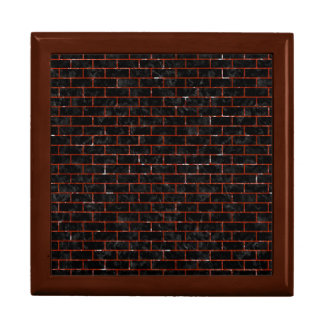 BRICK1 BLACK MARBLE & RED MARBLE GIFT BOX