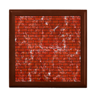 BRICK1 BLACK MARBLE & RED MARBLE (R) GIFT BOX