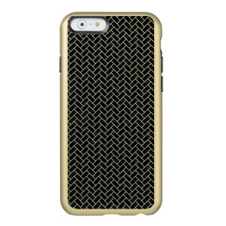 BRICK2 BLACK MARBLE & BEIGE LINEN INCIPIO FEATHER® SHINE iPhone 6 CASE