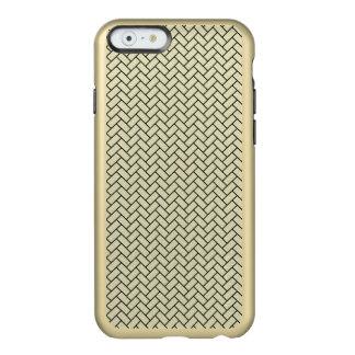 BRICK2 BLACK MARBLE & BEIGE LINEN (R) INCIPIO FEATHER® SHINE iPhone 6 CASE