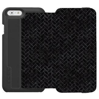 BRICK2 BLACK MARBLE & BLACK WATERCOLOR INCIPIO WATSON™ iPhone 6 WALLET CASE