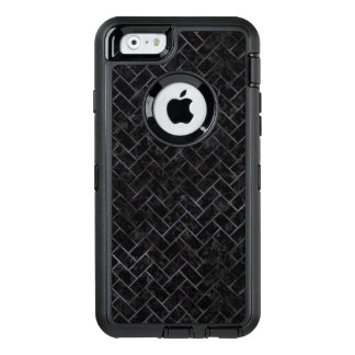 BRICK2 BLACK MARBLE & BLACK WATERCOLOR OtterBox DEFENDER iPhone CASE