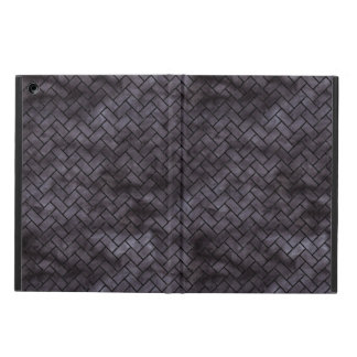 BRICK2 BLACK MARBLE & BLACK WATERCOLOR (R) COVER FOR iPad AIR