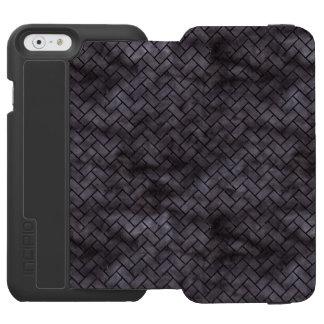 BRICK2 BLACK MARBLE & BLACK WATERCOLOR (R) INCIPIO WATSON™ iPhone 6 WALLET CASE