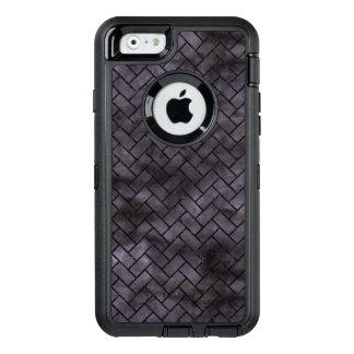 BRICK2 BLACK MARBLE & BLACK WATERCOLOR (R) OtterBox DEFENDER iPhone CASE