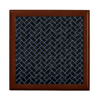 BRICK2 BLACK MARBLE & BLUE DENIM GIFT BOX