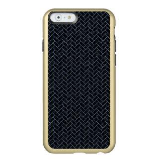 BRICK2 BLACK MARBLE & BLUE DENIM INCIPIO FEATHER® SHINE iPhone 6 CASE