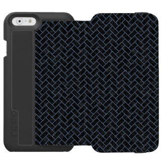 BRICK2 BLACK MARBLE & BLUE DENIM INCIPIO WATSON™ iPhone 6 WALLET CASE