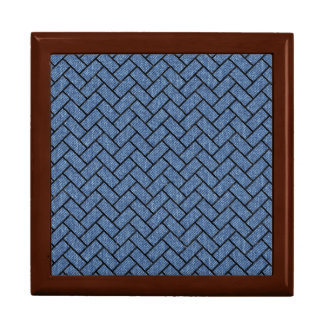 BRICK2 BLACK MARBLE & BLUE DENIM (R) GIFT BOX