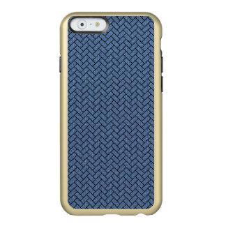 BRICK2 BLACK MARBLE & BLUE DENIM (R) INCIPIO FEATHER® SHINE iPhone 6 CASE