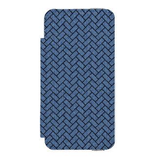 BRICK2 BLACK MARBLE & BLUE DENIM (R) INCIPIO WATSON™ iPhone 5 WALLET CASE