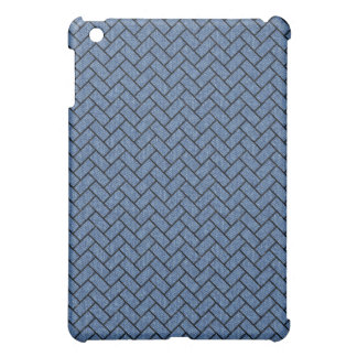 BRICK2 BLACK MARBLE & BLUE DENIM (R) iPad MINI CASE