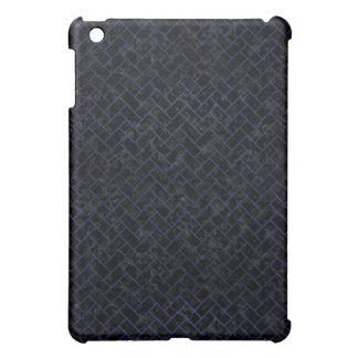 BRICK2 BLACK MARBLE & BLUE LEATHER COVER FOR THE iPad MINI