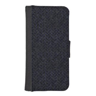 BRICK2 BLACK MARBLE & BLUE LEATHER iPhone SE/5/5s WALLET CASE