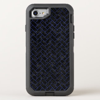 BRICK2 BLACK MARBLE & BLUE LEATHER OtterBox DEFENDER iPhone 8/7 CASE