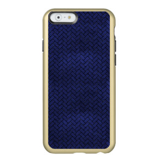 BRICK2 BLACK MARBLE & BLUE LEATHER (R) INCIPIO FEATHER® SHINE iPhone 6 CASE