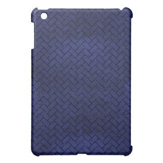BRICK2 BLACK MARBLE & BLUE LEATHER (R) iPad MINI CASE