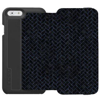 BRICK2 BLACK MARBLE & BLUE STONE INCIPIO WATSON™ iPhone 6 WALLET CASE