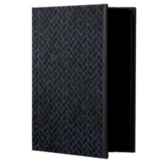 BRICK2 BLACK MARBLE & BLUE STONE POWIS iPad AIR 2 CASE