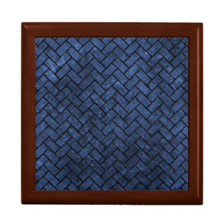 BRICK2 BLACK MARBLE & BLUE STONE (R) GIFT BOX