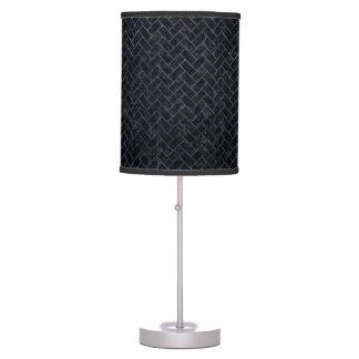 BRICK2 BLACK MARBLE & BLUE STONE TABLE LAMP