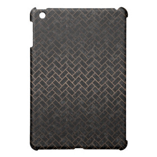 BRICK2 BLACK MARBLE & BRONZE METAL iPad MINI COVER