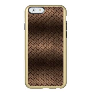 BRICK2 BLACK MARBLE & BRONZE METAL (R) INCIPIO FEATHER® SHINE iPhone 6 CASE