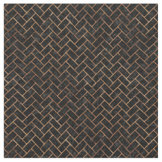 BRICK2 BLACK MARBLE & BROWN STONE FABRIC