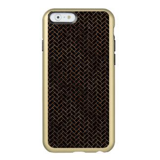 BRICK2 BLACK MARBLE & BROWN STONE INCIPIO FEATHER® SHINE iPhone 6 CASE