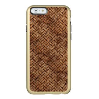 BRICK2 BLACK MARBLE & BROWN STONE (R) INCIPIO FEATHER® SHINE iPhone 6 CASE