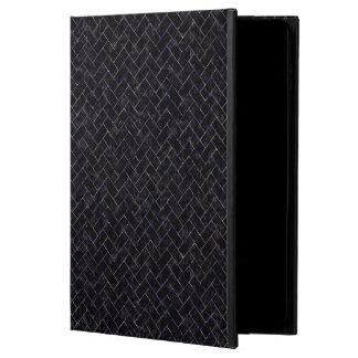 BRICK2 BLACK MARBLE & PURPLE MARBLE POWIS iPad AIR 2 CASE