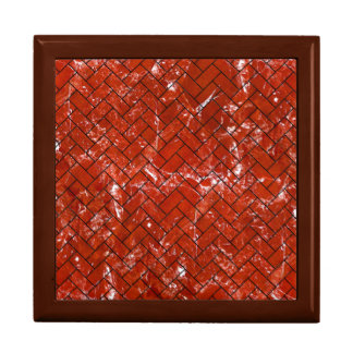 BRICK2 BLACK MARBLE & RED MARBLE (R) GIFT BOX