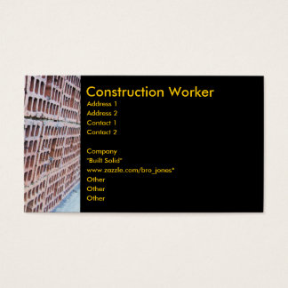 Brick and Mortar Business Card