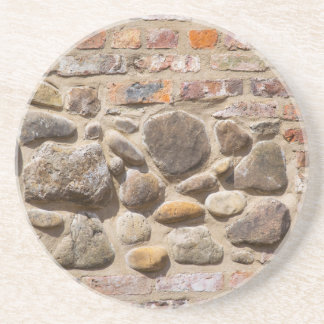 Brick and stone wall coaster
