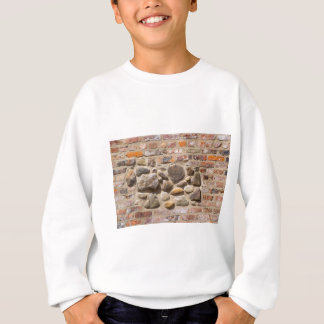 Brick and stone wall sweatshirt