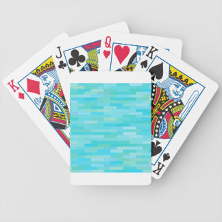 Brick Background Bicycle Playing Cards