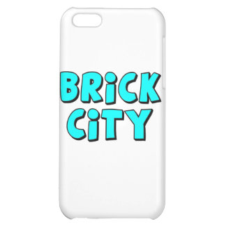 Brick City by Customise My Minifig Case For iPhone 5C